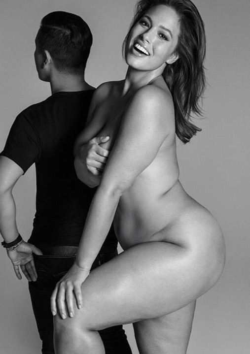 Ashley Graham nude on Instagram